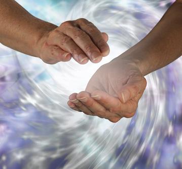 puissance énergétique des mains